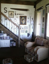stairs and collectables